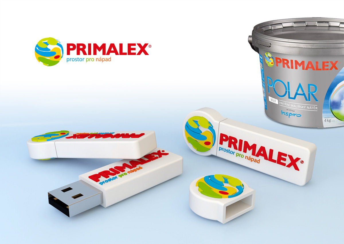 Silic Média Creative - USB Flash Primalex