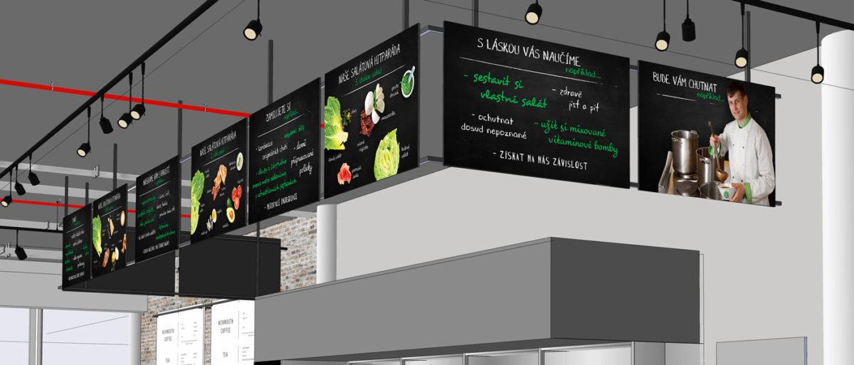 Silic Média Creative - Tabule do interiéru Green factory