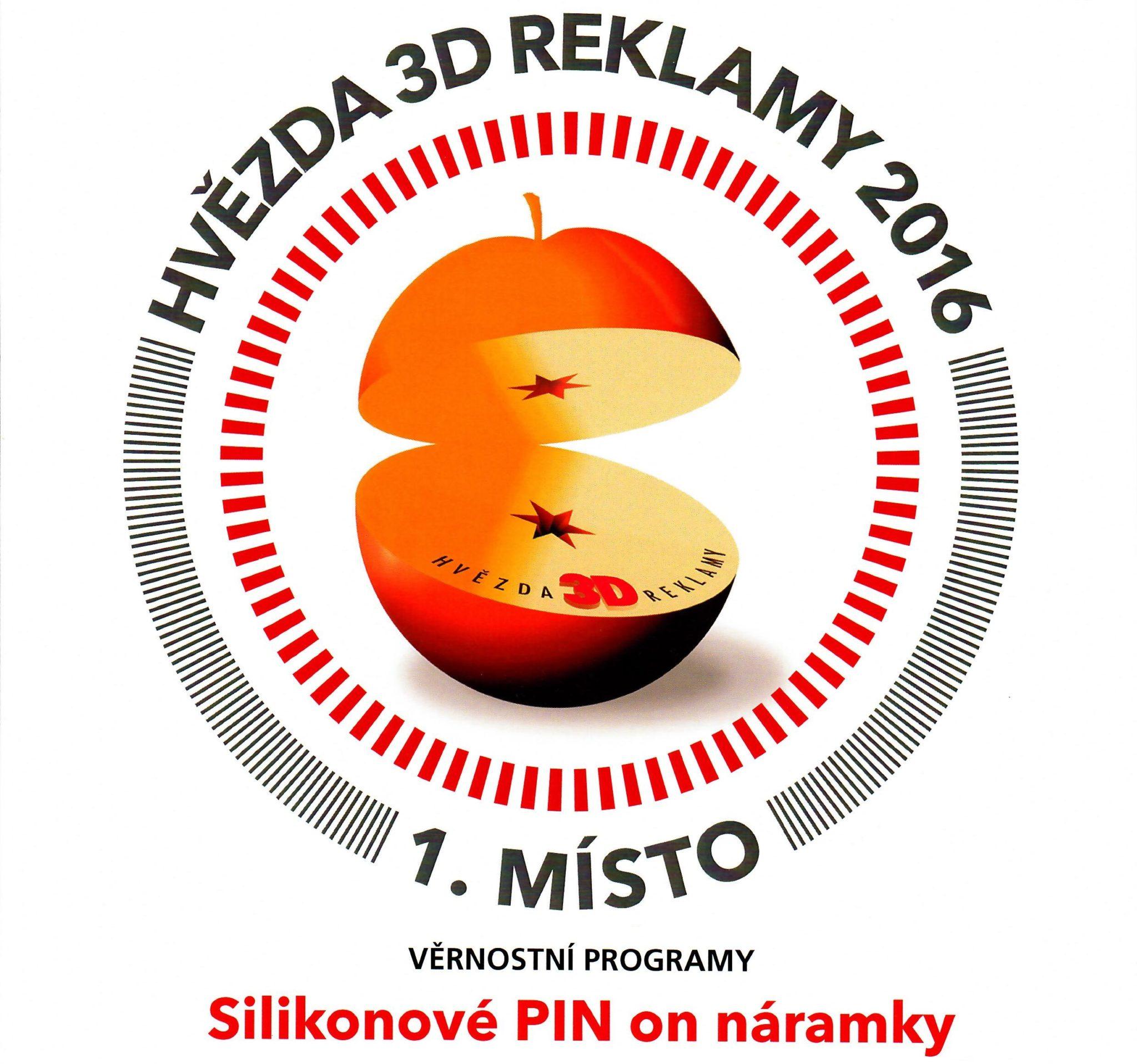 Ocenění pro Silic Média – Hvězda 3D reklamy – 1. místo