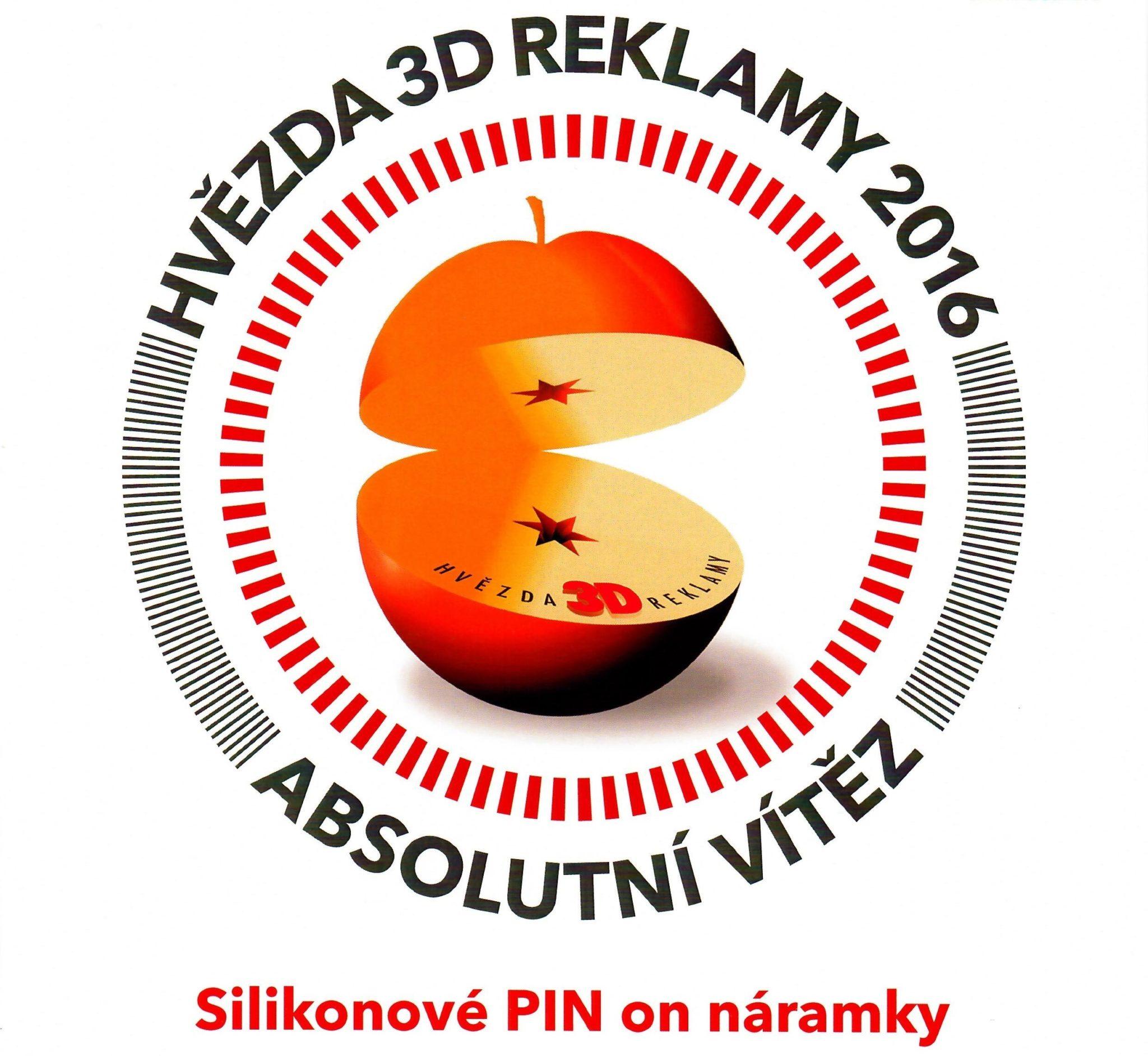Ocenění pro Silic Média – Hvězda 3D reklamy – absolutní vítěz