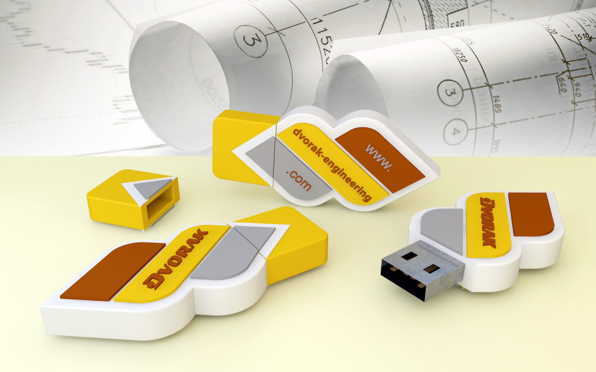 USB Flash Dvořák Engineering