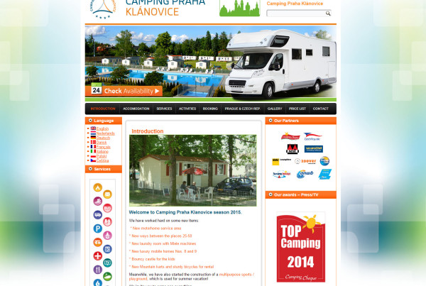 Camping Praha Klánovice - Silic Média Creative