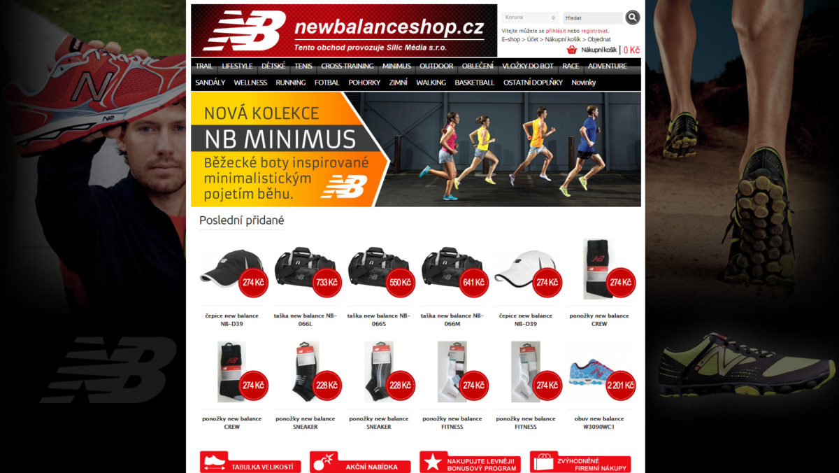 newbalanceshop.cz - Silic Média Creative