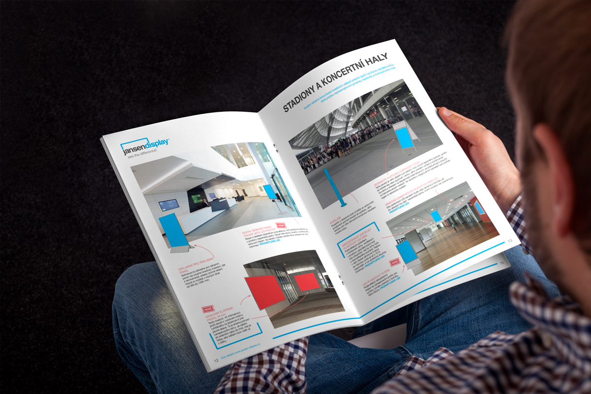 Silic Média Creative - Jansen display produktová brožura