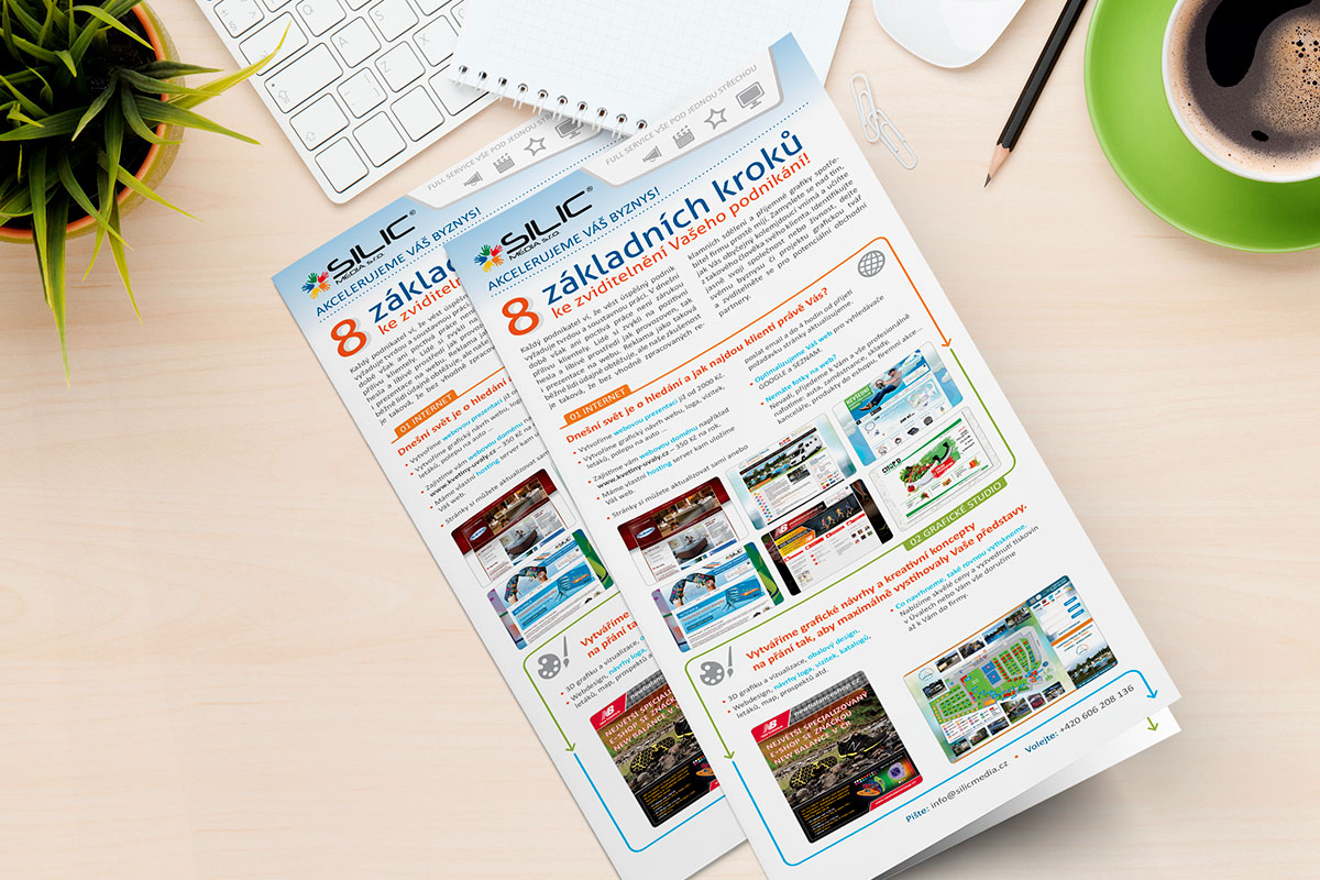 Silic Média Creative - leták Silic Média