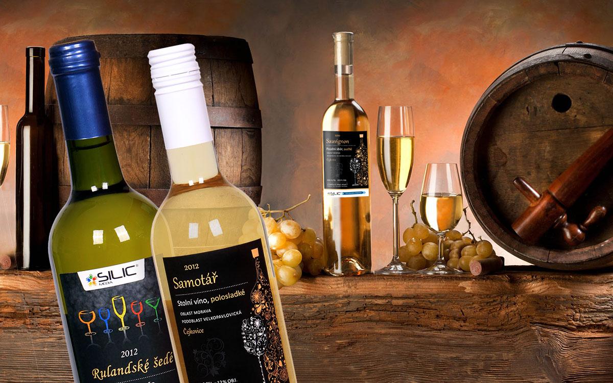 Silic Média Creative - Reklamní vína