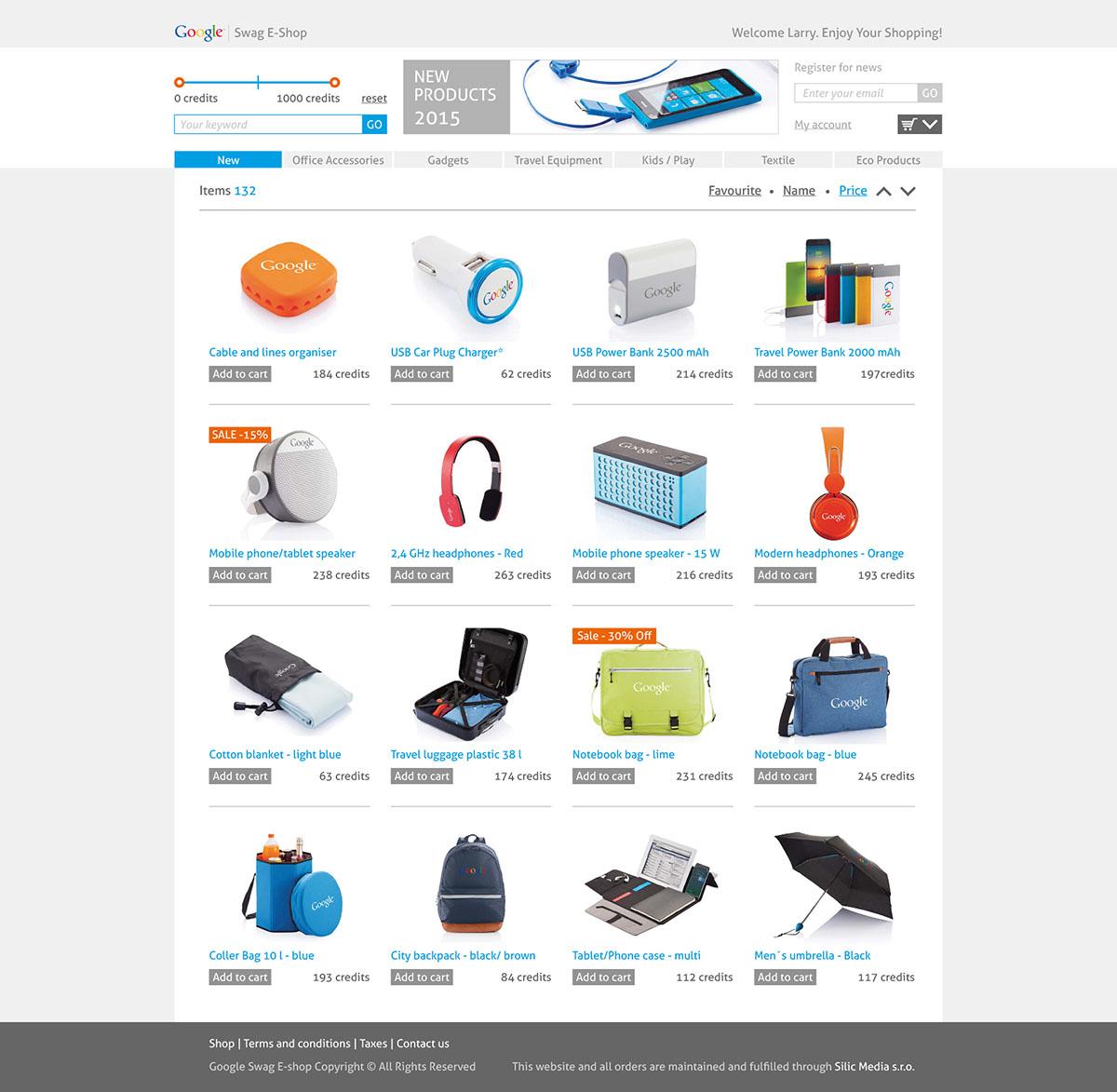 Silic Média Creative - Google e-shop