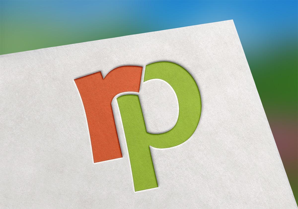 Logo RP - reklamní předměty (univerzální e-shop)