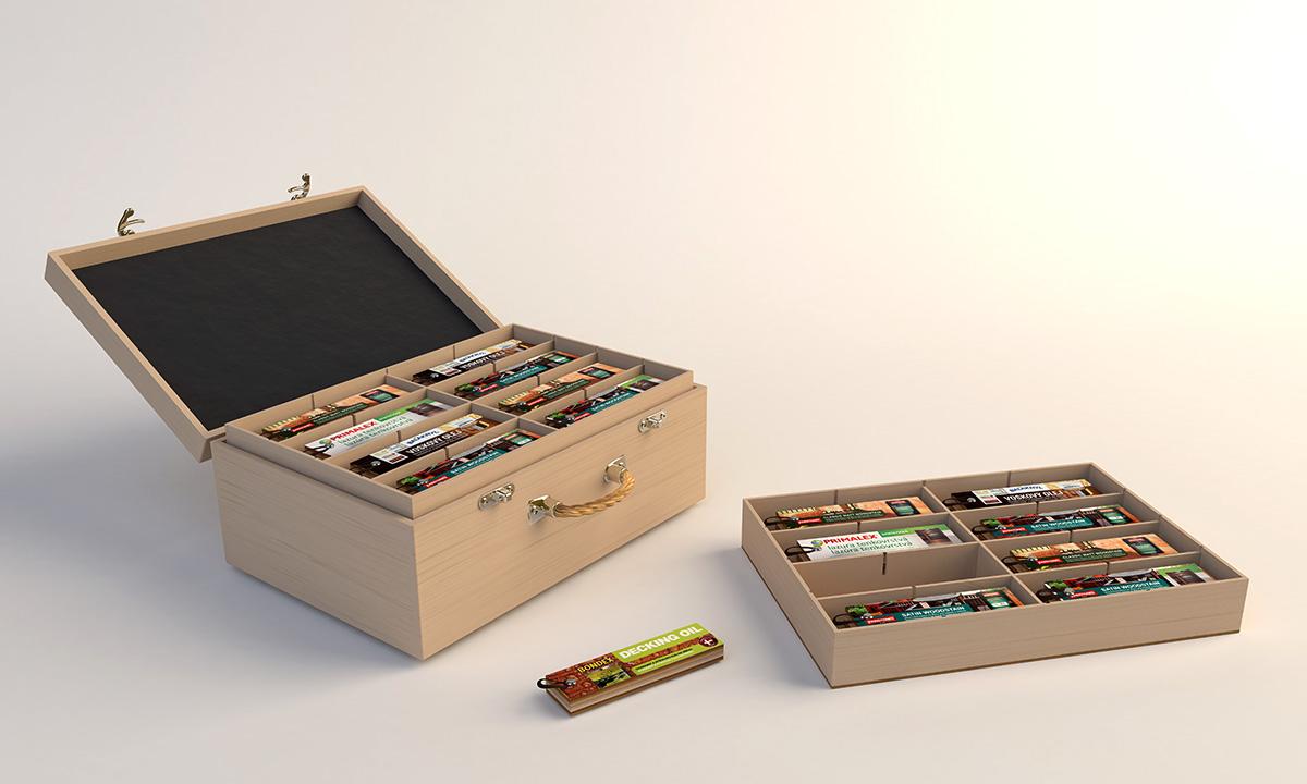 Prezentační kufr PPG - Silic Média Creative