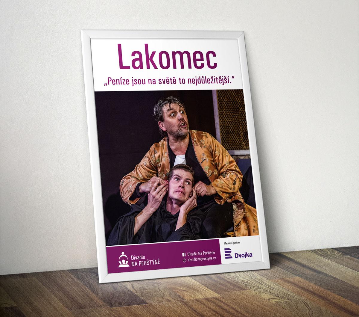 Divadlo Na Perštýně - plakát A2